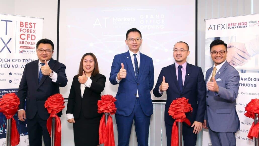 ATFX开疆辟土 越南办事处隆重开业