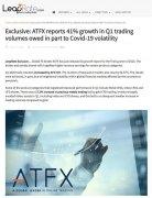 ATFX远程招聘新员工,积极开拓全球化市场